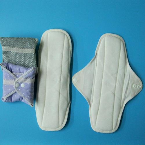 日單/布衛生棉24cm/日用/漏尿/一般流量純棉有防水層透氣環保健康可水洗重複使用,曬乾快