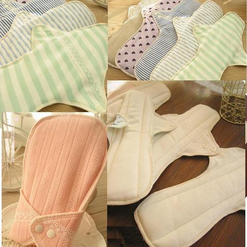 日單/日用一般流量/成人漏尿 天然純棉布衛生棉28-30cm 有防水層 環保健康可水洗重複使用