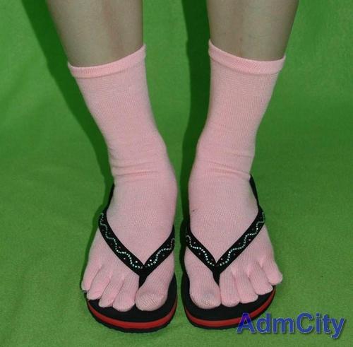 健康抗菌五腳趾襪五指襪保暖的襪子腳保護女用女襪