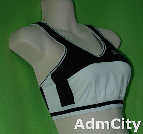 超彈性 spandex 運動胸罩 .