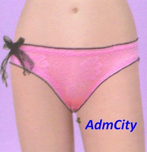 超彈性 spandex 超底腰 蕾絲 超彈性 spandex 性感內褲.