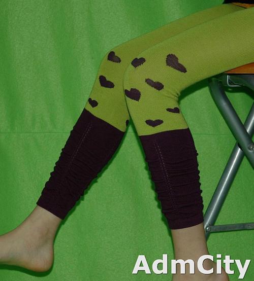 兒童超彈性 spandex 內搭露趾超彈性內搭襪 / 褲襪 .