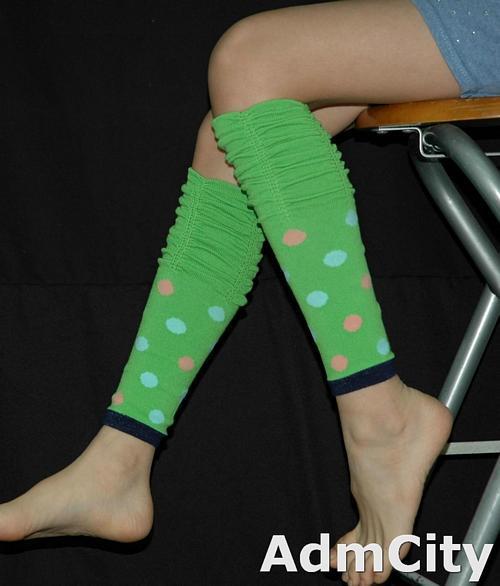 兒童超彈性 spandex 暖腿套.