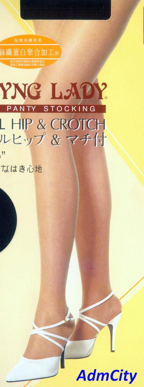 腹部3D立體設計性感透明褲襪, 褲襠有墊片, 3D立體足型設計.超合身, 特舒適款