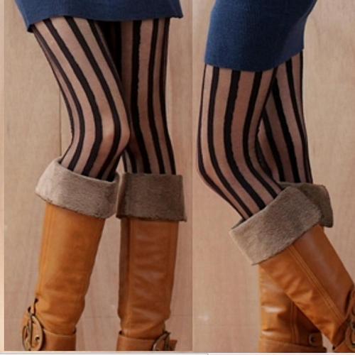 超彈性 spandex 無足褲襪 內搭褲.