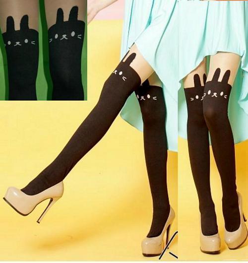 超彈性 spandex 透明 不透明薄霧 褲襪