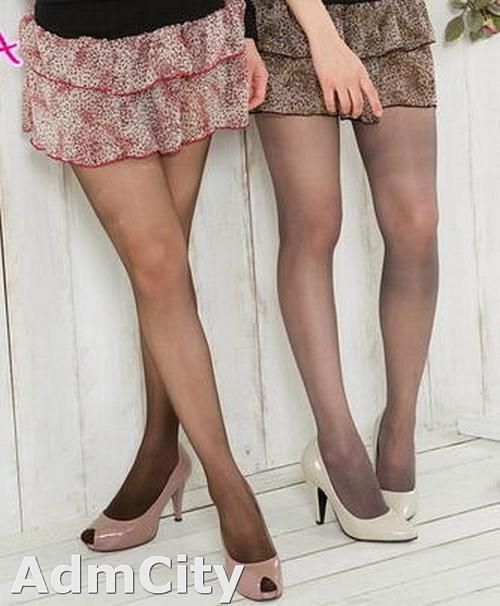 美肌裸膚 彈性透明褲襪
