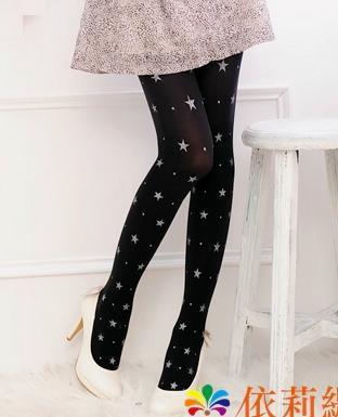 星光閃閃不透明褲襪 您將會是最閃亮的一顆星