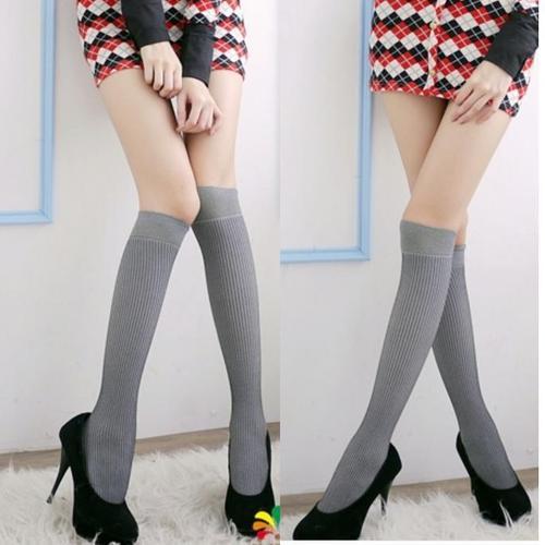 超彈性纖維及膝襪短襪馬靴效果修飾腿型日韓流行可愛性感襪,外出休閒居家多功能柔軟彈性襪