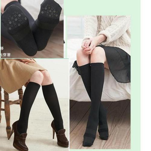 140丹厚度竹炭防滑美腿修飾襪高彈性係數修飾腿部曲線健康好用階段性加壓設計