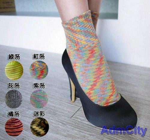 柔軟女用短襪多色可選可搭配高跟鞋運動鞋休閒鞋使用