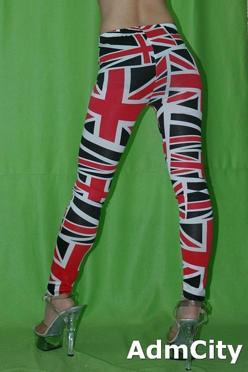 英國國旗內搭褲.