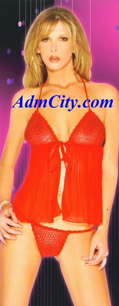 兩件式性感內衣,閃亮胸罩搭配蝴蝶結的緞帶,讓您身材的曲線若隱若現, 散發柔魅力