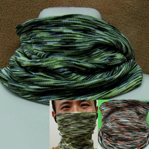 純蠶絲口罩脖子保暖絲巾圍脖滑雪熱的温暖的防塵健康