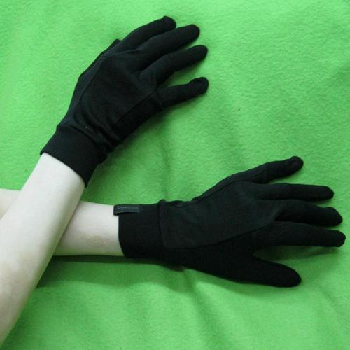 豪華的純蠶絲手套滑雪熱的温暖的涼爽的冬天柔軟護手男女通用