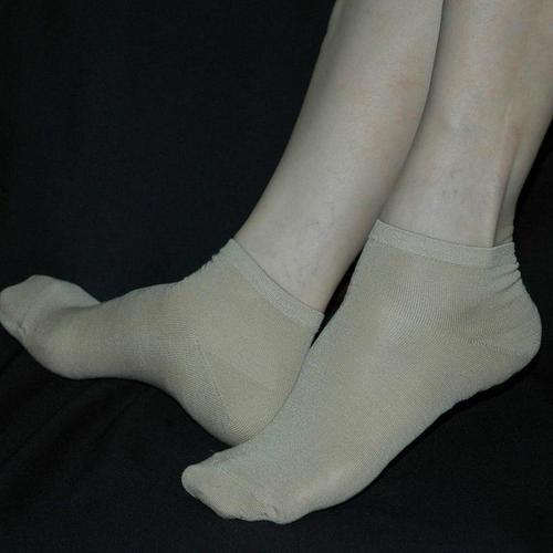 高級 純蠶絲 女襪襪子 柔軟透氣日單出口歐美護膚非常柔軟好穿透氣特別推薦款