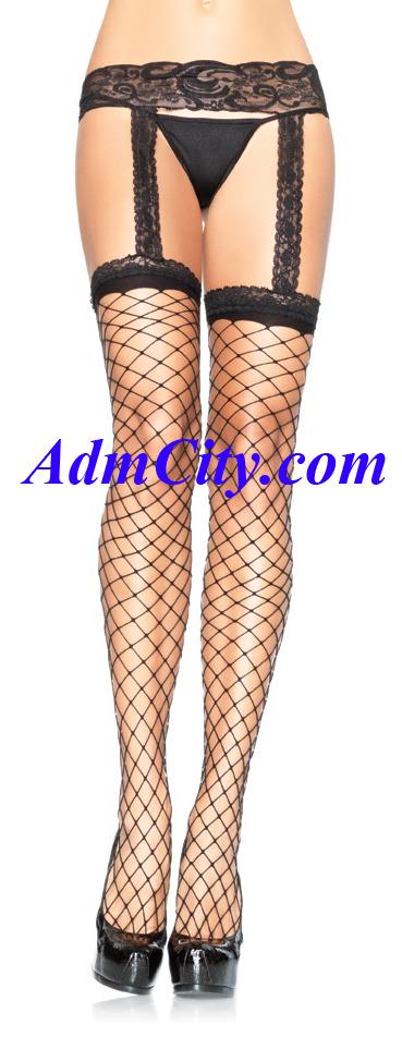 超彈性 spandex 蕾絲 吊襪帶式長統襪