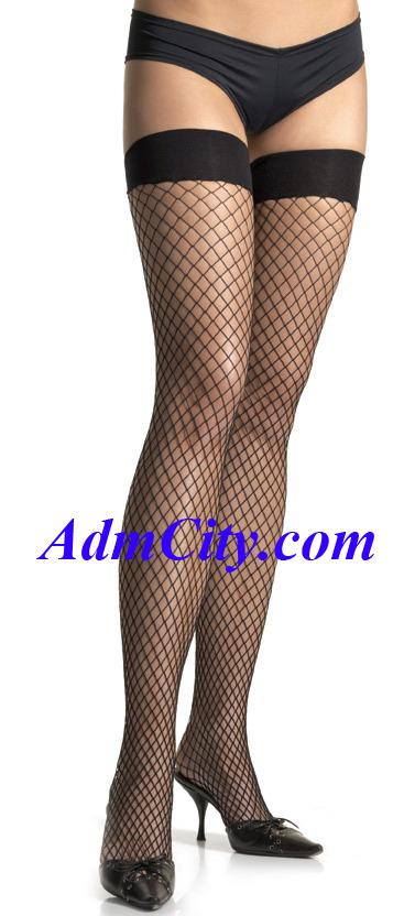 超彈性 spandex 大腿襪 .