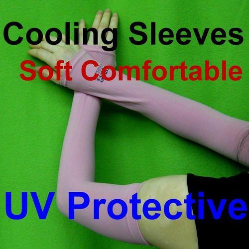 UV防曬透氣袖套涼感戶外健行自行車機車開車適用