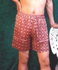 真絲拳擊手內褲. 材質:蚕絲綢緞. 真絲內褲非常舒服. 讓您的皮膚經歷從未感受到的溫柔