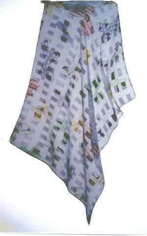 Scarf. material: polyester. size:45X50CM.