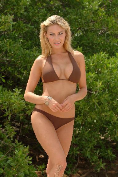 歐式低腰覆蓋臀部3/4性感泳褲.