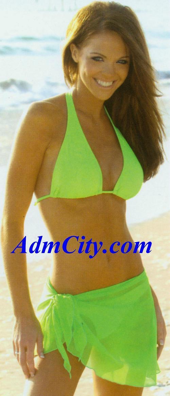 迷你裙. & #360h-keylime 露背 上衣 & #3602-keylime 女用進口性感泳褲-覆蓋範圍為臀部的1/2  不含在此項產品中, 請另點選連接購買 )