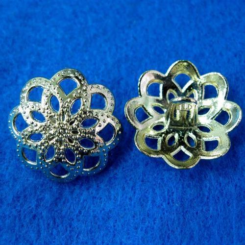 10個花兒樣式縫紉扣