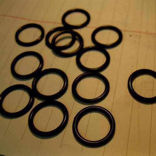 40件組,胸罩內衣12mm調整環狀圓形鈕釦