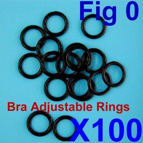 100個肩帶扣環