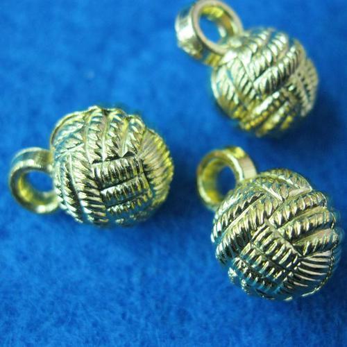 10個球狀樣式縫紉扣