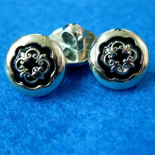 10個花形樣式縫紉扣