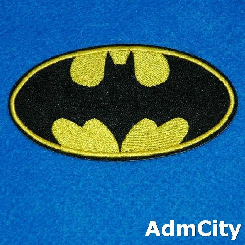 蝙蝠俠服飾配件DIY手工藝刺繡燙布/燙貼布/熨燙徽章/貼花