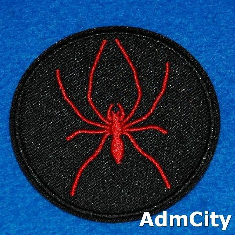 蜘蛛服飾配件DIY手工藝刺繡燙布/燙貼布/熨燙徽章/貼花