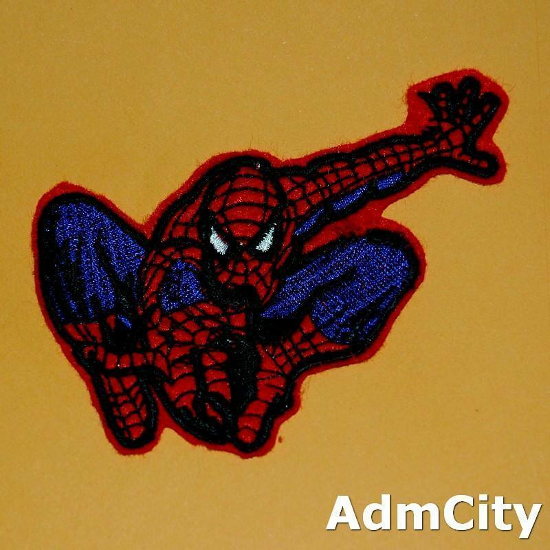 蜘蛛人服飾配件DIY手工藝刺繡燙布/燙貼布/熨燙徽章/貼花