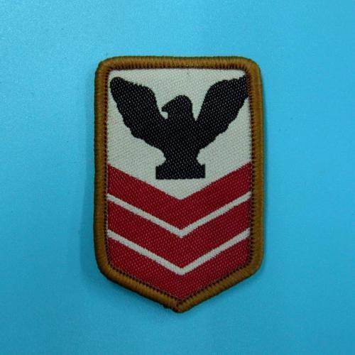 軍隊警察服飾配件DIY手工藝刺繡需手縫徽章/貼花