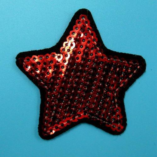 閃耀星星亮片服飾配件DIY手工藝刺繡燙布/燙貼布/熨燙徽章/貼花