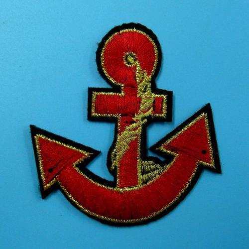 繩索錨海洋船服飾配件DIY手工藝刺繡燙布/燙貼布/熨燙徽章/貼花
