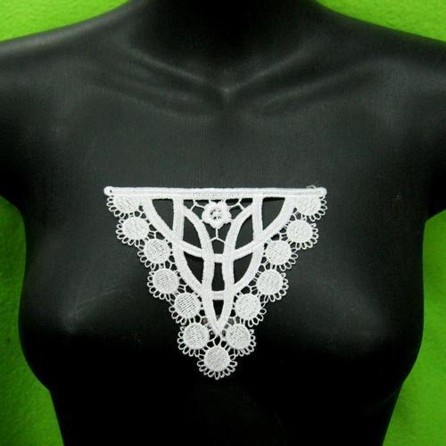 花朵胸部服飾配件洋裝DIY手工藝刺繡徽章/貼花/需手縫