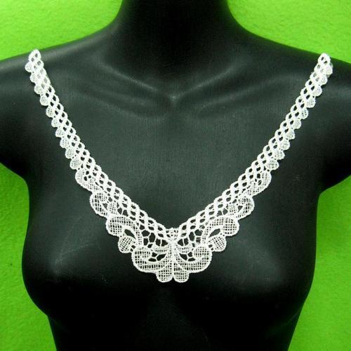 花色頸圈胸部服飾配件DIY手工藝刺繡徽章/貼花/需手縫