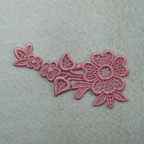 雛菊花色服飾配件蕾絲洋裝DIY手工藝刺繡徽章/貼花/需手縫