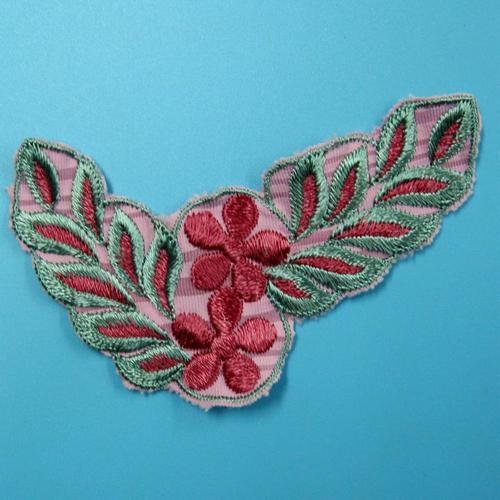 雛菊花色服飾配件洋裝DIY手工藝刺繡徽章/貼花/需手縫
