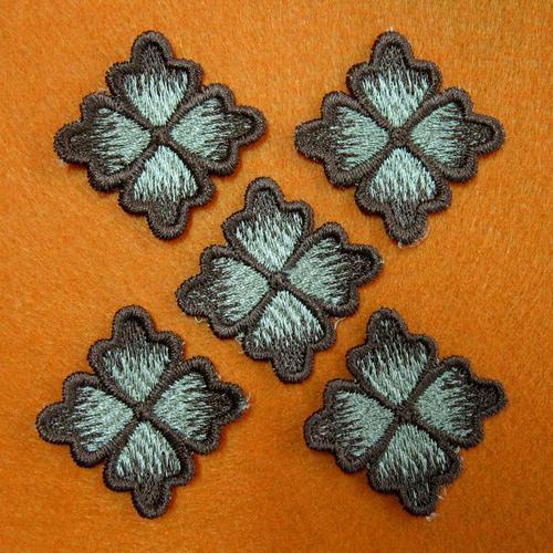 5片花服飾配件DIY手工藝刺繡徽章/貼花/需手縫