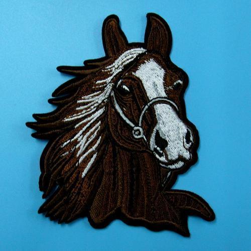 小馬動物服飾配件DIY手工藝刺繡燙布/燙貼布/熨燙徽章/貼花