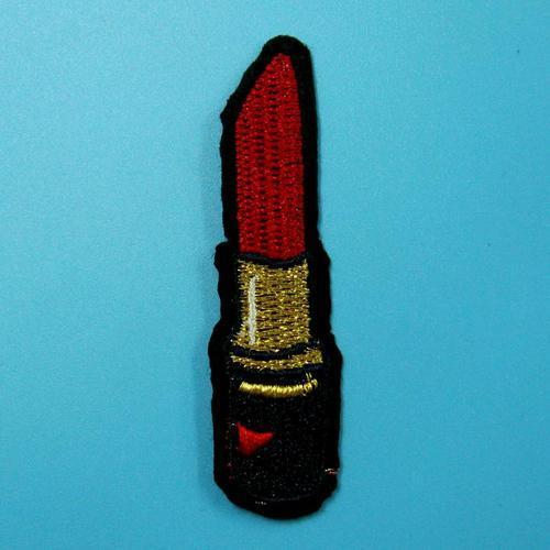 口紅嘴唇服飾配件DIY手工藝刺繡燙布/燙貼布/熨燙徽章/貼花