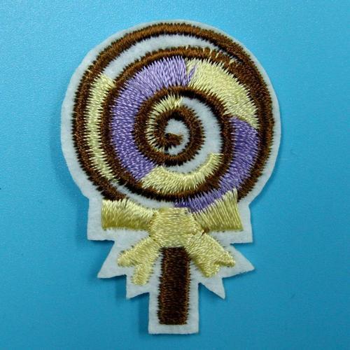 甜甜圈餅乾可愛服飾配件DIY手工藝刺繡燙布/燙貼布/熨燙徽章/貼花