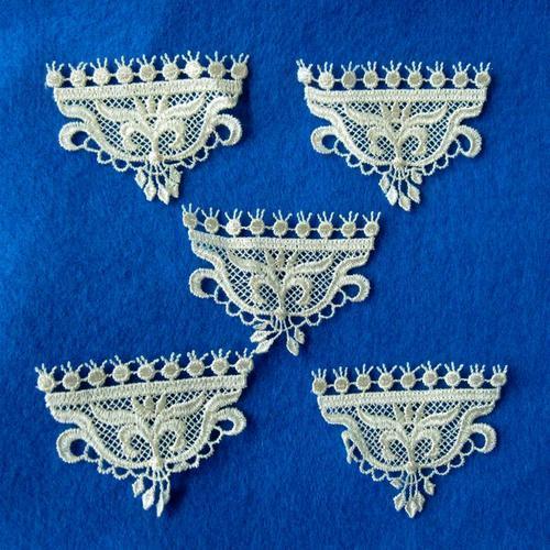 5頂皇冠服飾配件DIY手工藝刺繡徽章/貼花/需手縫