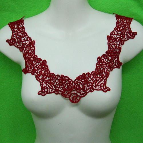 葡萄紅玫瑰花服飾配件DIY手工藝刺繡徽章/貼花/需手縫