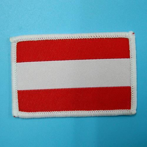 拉脫維亞國旗服飾配件DIY手工藝刺繡燙布/燙貼布/熨燙徽章/貼花