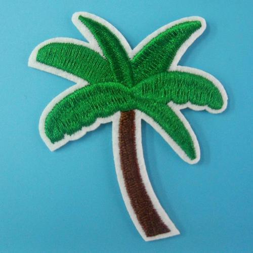 棕櫚樹木服飾配件DIY手工藝刺繡燙布/燙貼布/熨燙徽章/貼花